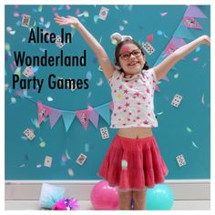 Alice In Wonderland Party Games | Kit & Caboodle Parties | Party Blogger | Alice In Wonderland Party Tips & Inspiration