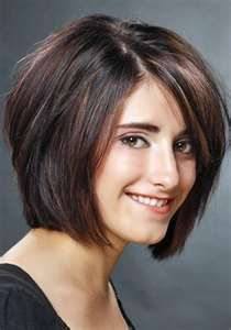 Layered Bob....???? Love this look...but not sure I could go this short.