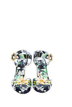 Dolce & Gabbana SANDALO NERO/VERDE. Shop on Italist.com