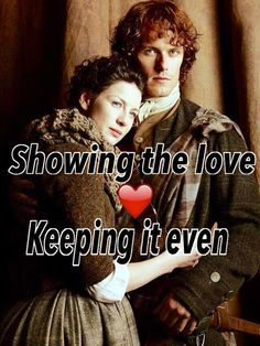 I  that the OL Fanmily loves BOTH @SamHeughan & @caitrionambalfe so much, they are keeping the vote shared equally pic.twitter.com/FXTmfnrrvu