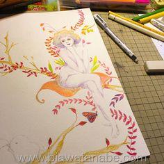 No comeo de outro desenho! Starting a new drawing drawhellip