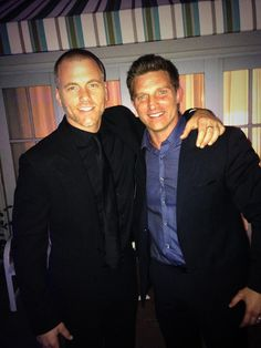 Sean Carrigan and Steve Burton
