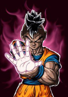 Dragon Ball Gt, Majin Boo Kid, Black Comics, Black Art Pictures, Black Anime Characters, Black Artwork, Anime Tattoos, Character Art, Boondocks