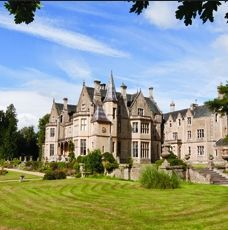 The Orchardleigh House and Estate, Somerset is a 550 acre private gated estate 10 miles south of Bath, with a truly romantic Island Church and a superb golf course.