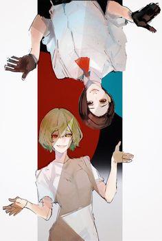 Tokyo ghoul eto and furuta