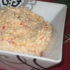 Homemade Pimento Cheese--it's a southern thing
