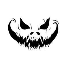 Face Stencils, Skull Stencil, Skull Art, Pumpkin Template, Pumpkin Carving Templates, Oni Maske, Desenhos League Of Legends, Halloween Stencils, Halloween Door Decorations