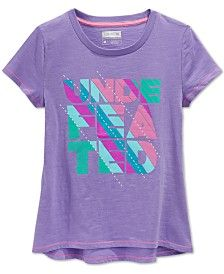 Layer 8 Little Girls' Undefeated T-Shirt