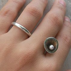 Anemone Ring by aranajewelry on Etsy, $235.00