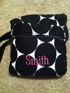 Organizing Shoulder Bag Thirty One Big Dot 2