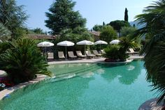 Carros village Domaine de Respelido and its stunning pool