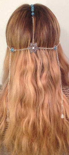 head jewelry  https://www.etsy.com/listing/101495112/flower-hippie-head-jewelry  $25