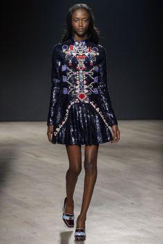 Best of London Fashion Week: Mary Katrantzou fall 2014