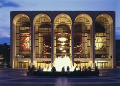 The Metropolitan Opera House - Lincoln Center, NYC