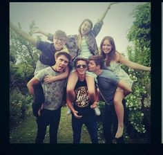 Tyler, Alfie, Zoe, Joe, Jim, and Tanya :-)
