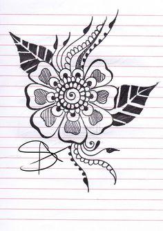 Henna Design 4 by ~iLoveKyu on deviantART