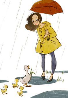celine-kim:  Some random illustration I had to whip out for...