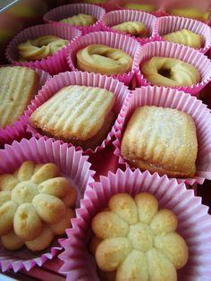 Siempredulces: Pastas de mantequilla (Dinamarca)