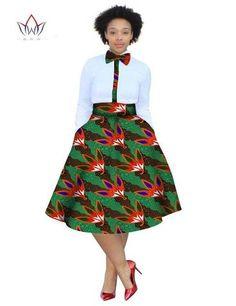 2017 christmas dress Plus Size 2 Pieces African Print Dashiki Shirt Skirt Set Bazin Rche Femme Africa Clothing natural at Diyanu African Bridesmaid Dresses, Long African Dresses, African Wear, African Fashion, Afrocentric Clothing, Dashiki Shirt, Ankara Skirt, African Traditional Dresses, Shirt Skirt