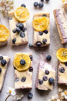 Blueberry Lemon Chee