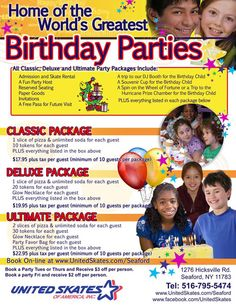 Birthday Parties For Children Our Birthday Parties Pinterest - Childrens birthday parties on long island