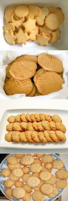 Sweet cookies, ingredients: 4 cups of flour, 2 cups of sugar, teaspoon of salt 1 teaspoon baking powder or baking powder, 250 grams of m … Köstliche Desserts, Delicious Desserts, Dessert Recipes, Yummy Food, Mexican Food Recipes, Sweet Recipes, Cookie Recipes, Pan Dulce, Sweet Cookies