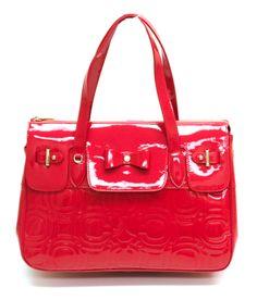 #carlorino #springsummer2013 #red #handbag #shopper #patent