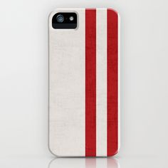 french linen - red iPhone & iPod Case by her art
