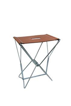 """ANVE"""" BANQUINHO N°2 """" leather stool"""