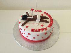 Cupido cake by Sharona's Cakes