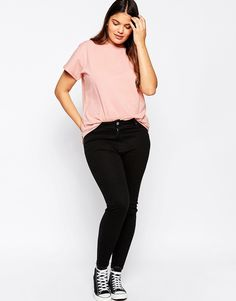 Image 4 of ASOS CURVE The Ultimate Easy T-Shirt