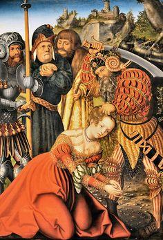 Lucas Cranach the Elder - The Martyrdom of Saint Barbara at New York Metropolitan Museum of Art