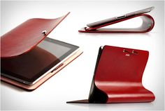 IPAD LEATHER ARC COVER BY EVOUNI
