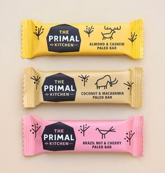 Creative Fitness branding, Supplement and Energy bar packaging design Candy Packaging, Chocolate Packaging, Pretty Packaging, Coffee Packaging, Bottle Packaging, Beverage Packaging, Retail Packaging, Protein Bar Brands, Protein Bars