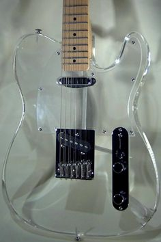 Clear Telecaster