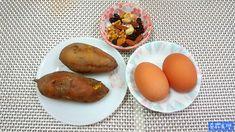 No 밀가루! 다이어터를 위한 전자렌지 '고구마빵'초간단 레시피 Korean Food, Baked Potato, Potatoes, Baking, Breakfast, Ethnic Recipes, Bread Making, Morning Coffee, Korean Cuisine