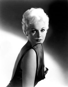Kim Novak  When I was a kid,  I thought she was so beautiful,  and we had the same birthday