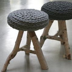 le souk - birch stool