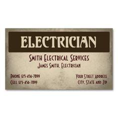 Modern electrician logo on dk gray business card card templates modern electrician logo on dk gray business card card templates business cards and logos colourmoves