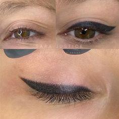 Classic Eyeliner, Thick Eyeliner, Eye Brows, Winged Eyeliner, Permanent Eyeliner, Semi Permanent Makeup, Eye Makeup Pictures, Eyeliner Tattoo, Eyeliner Styles