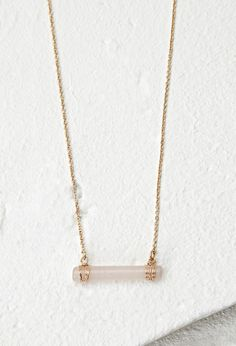 Wire-Wrapped Faux Stone Necklace - Womens accessories, jewellery and bags | shop online | Forever 21 - Jewellery - Necklaces - 1000155673 - Forever 21 EU
