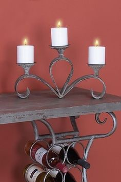 Metal Candle Holder