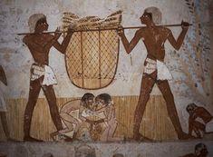 Huellas de Gigantes :: EGIPTO, Gigantes trabajando con humanos de tamaño normal