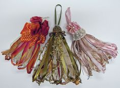 Ribbon tassels