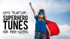"When your mini-me starts jumping off the monkey bars and screaming ""KAPOW,"" you know you have a superhero-in-training. She might just be concealing her secret identity disguised as your… Superhero School Theme, Superhero Kids, School Themes, Superhero Party, Classroom Themes, Superhero Preschool, Super Hero Activities, Music Activities"