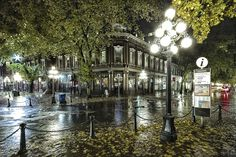 Autumn on Water Street, Gastown, Vancouver, BC, Canada | by Martin Grančič, via 500px