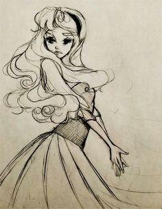 Sleeping Beauty sketch