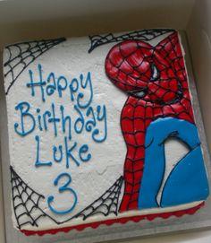 Wedding Cake And Spiderman  Lavenderbakerys Blog