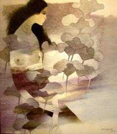 Do Duy Tuan 1954 | pintor vietnamita Técnica Mixta