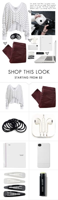 """""""i wrote till i had pored out my heart..."""" by at-39thst-fashion ❤ liked on Polyvore featuring Wildfox, Helmut Lang, PhunkeeTree, Incase, Forever 21, Bobbi Brown Cosmetics and love"""